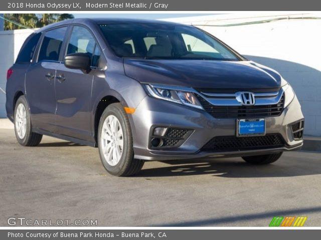 2018 Honda Odyssey LX in Modern Steel Metallic