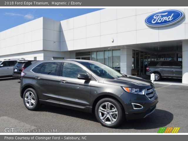 2018 Ford Edge Titanium in Magnetic