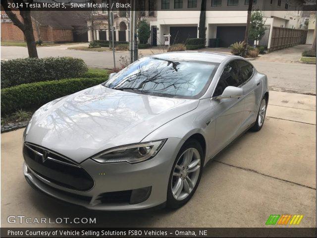 2014 Tesla Model S  in Silver Metallic