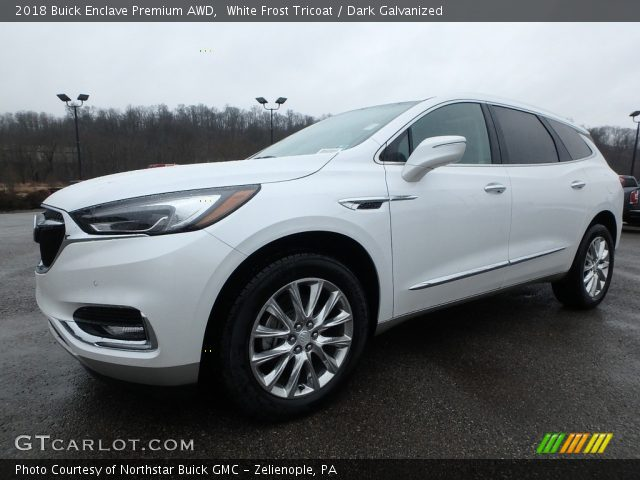 2018 Buick Enclave Premium AWD in White Frost Tricoat
