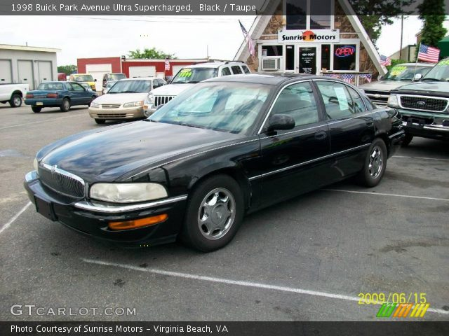 black 1998 buick park avenue ultra supercharged taupe interior vehicle. Black Bedroom Furniture Sets. Home Design Ideas