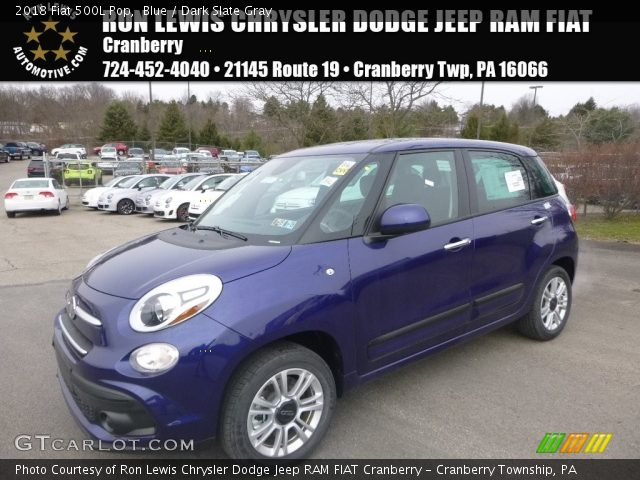 2018 Fiat 500L Pop in Blue