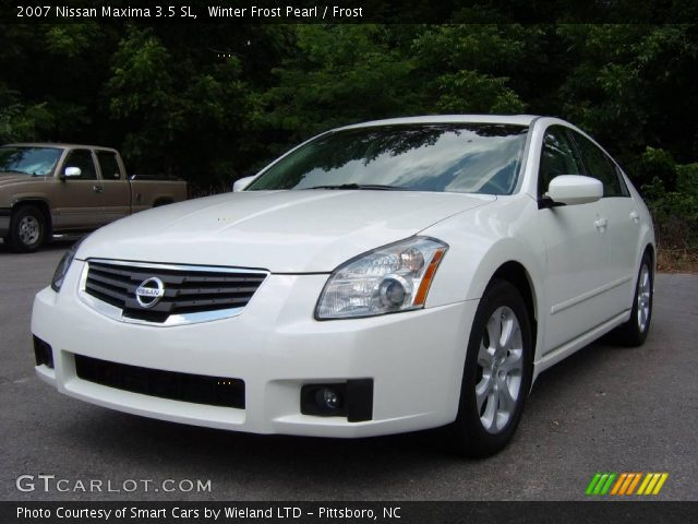 winter frost pearl 2007 nissan maxima 3 5 sl frost interior vehicle archive. Black Bedroom Furniture Sets. Home Design Ideas