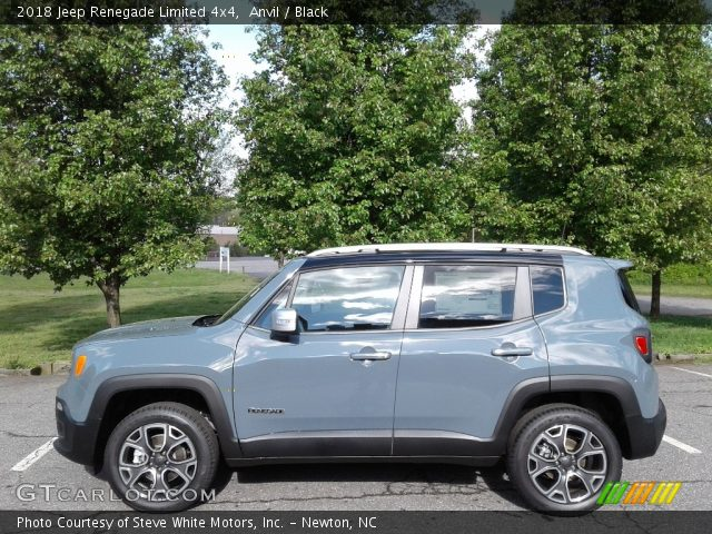 2018 Jeep Renegade Limited 4x4 in Anvil