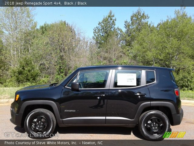 2018 Jeep Renegade Sport 4x4 in Black