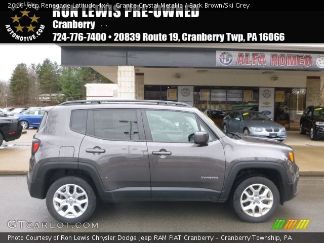 2016 Jeep Renegade Latitude 4x4 in Granite Crystal Metallic