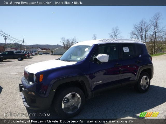2018 Jeep Renegade Sport 4x4 in Jetset Blue