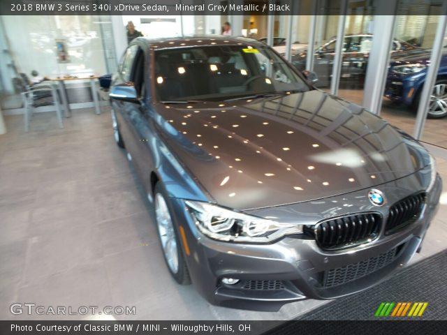 2018 BMW 3 Series 340i xDrive Sedan in Mineral Grey Metallic