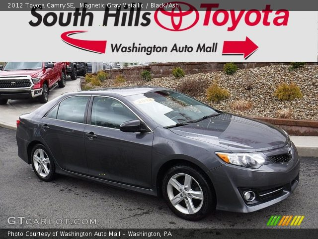 2012 Toyota Camry SE in Magnetic Gray Metallic