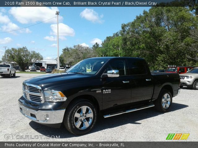 2018 Ram 1500 Big Horn Crew Cab in Brilliant Black Crystal Pearl