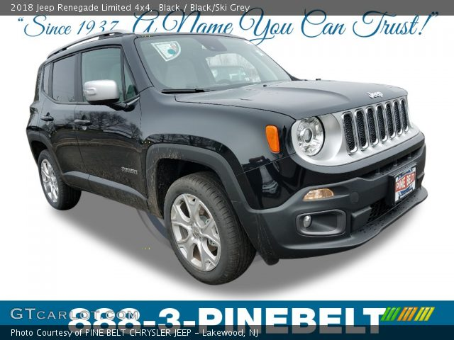 2018 Jeep Renegade Limited 4x4 in Black