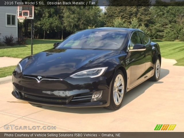 2016 Tesla Model S 60 in Obsidian Black Metallic