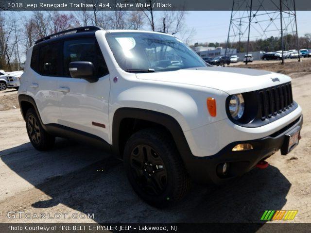 2018 Jeep Renegade Trailhawk 4x4 in Alpine White