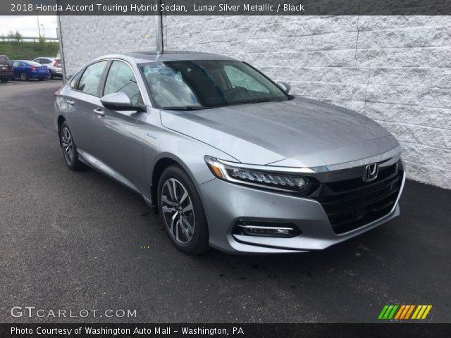 2018 Honda Accord Touring Hybrid Sedan in Lunar Silver Metallic