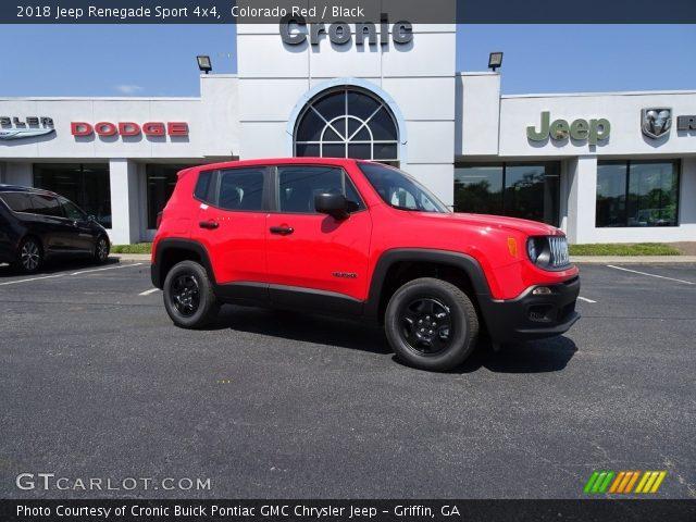 2018 Jeep Renegade Sport 4x4 in Colorado Red