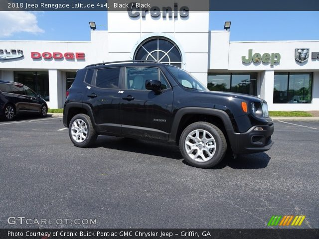 2018 Jeep Renegade Latitude 4x4 in Black