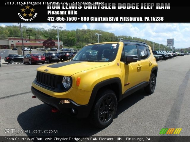 2018 Jeep Renegade Trailhawk 4x4 in Solar Yellow