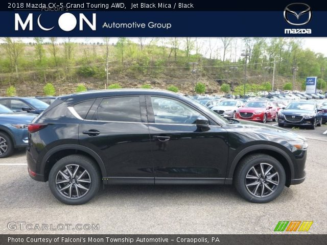 2018 Mazda CX-5 Grand Touring AWD in Jet Black Mica