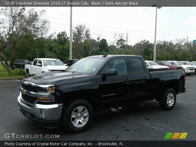 2018 Chevrolet Silverado 1500 LT Double Cab in Black
