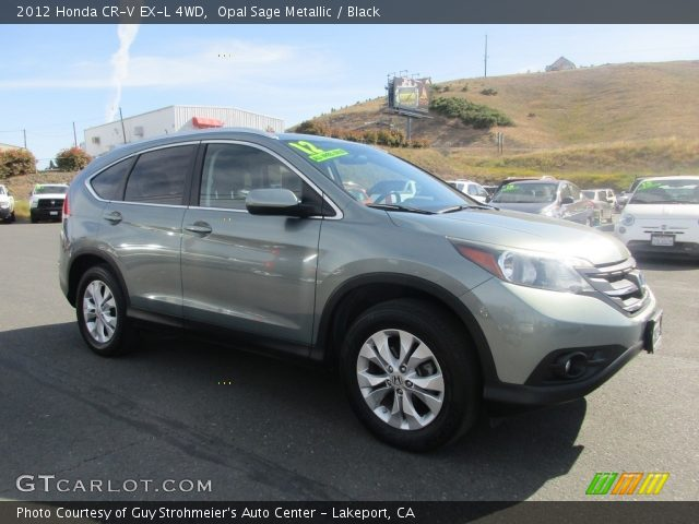 2012 Honda CR-V EX-L 4WD in Opal Sage Metallic