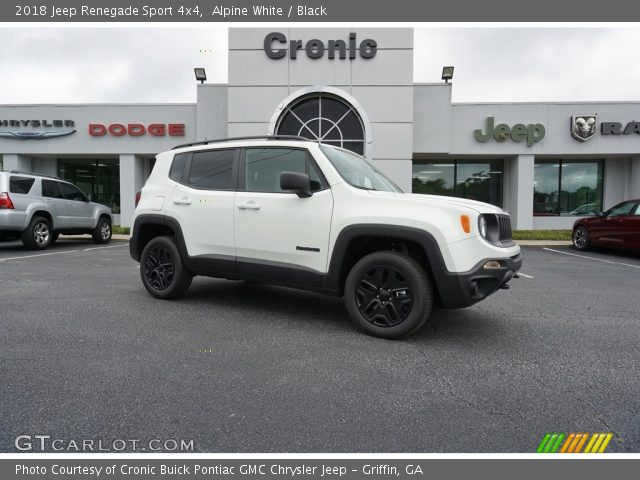 2018 Jeep Renegade Sport 4x4 in Alpine White