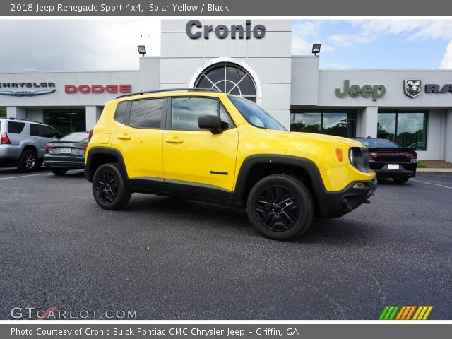 2018 Jeep Renegade Sport 4x4 in Solar Yellow