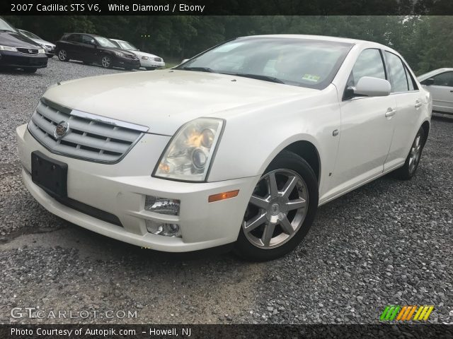 2007 Cadillac STS V6 in White Diamond