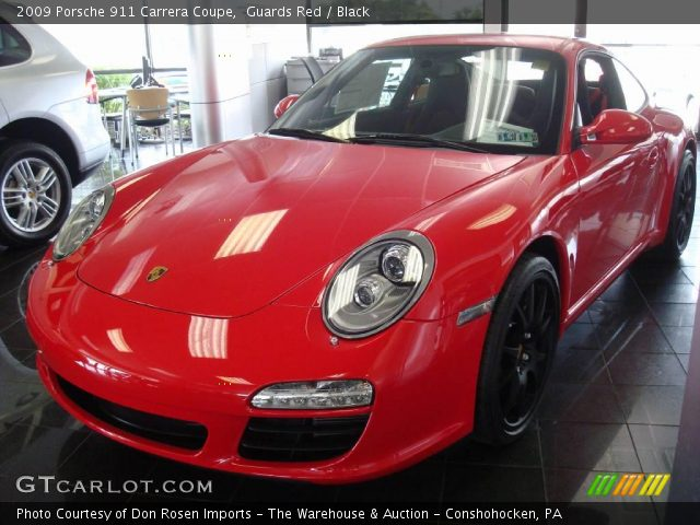 2009 Porsche 911 Carrera Coupe in Guards Red