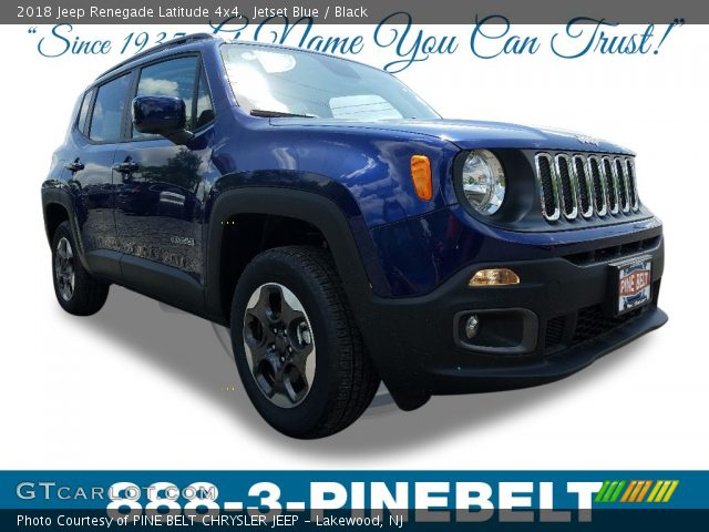 2018 Jeep Renegade Latitude 4x4 in Jetset Blue