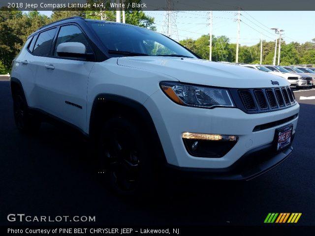 2018 Jeep Compass Latitude 4x4 in White