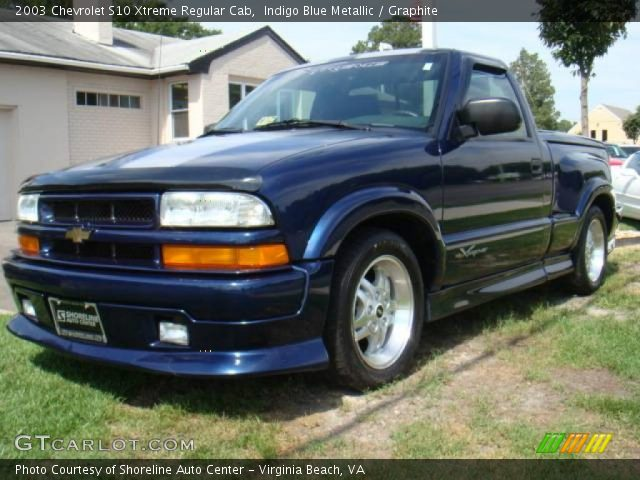 2003 chevrolet s10 xtreme regular cab in indigo blue metallic click. Cars Review. Best American Auto & Cars Review