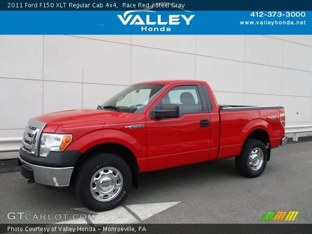 2011 Ford F150 XLT Regular Cab 4x4 in Race Red