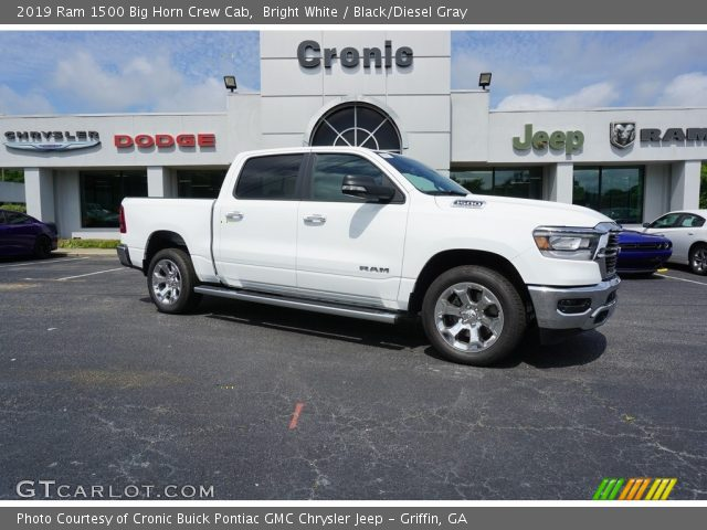 2019 Ram 1500 Big Horn Crew Cab in Bright White