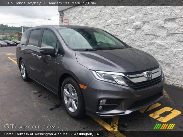 2019 Honda Odyssey EX in Modern Steel Metallic