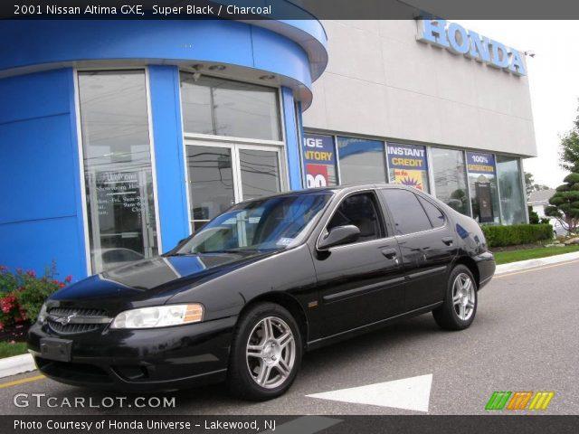Super Black 2001 Nissan Altima Gxe Charcoal Interior Gtcarlot