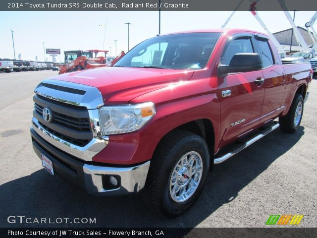 2014 Toyota Tundra SR5 Double Cab in Radiant Red