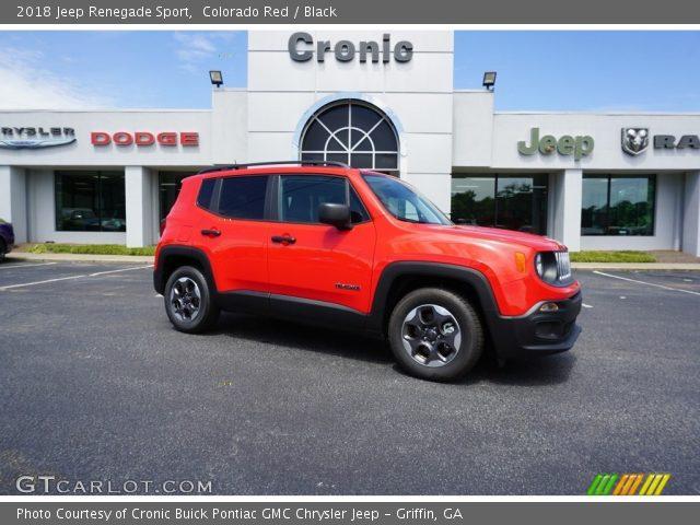 2018 Jeep Renegade Sport in Colorado Red