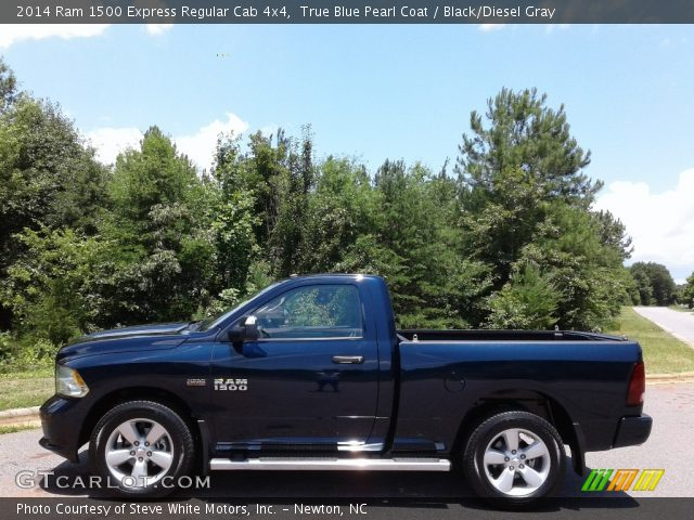 2014 Ram 1500 Express Regular Cab 4x4 in True Blue Pearl Coat