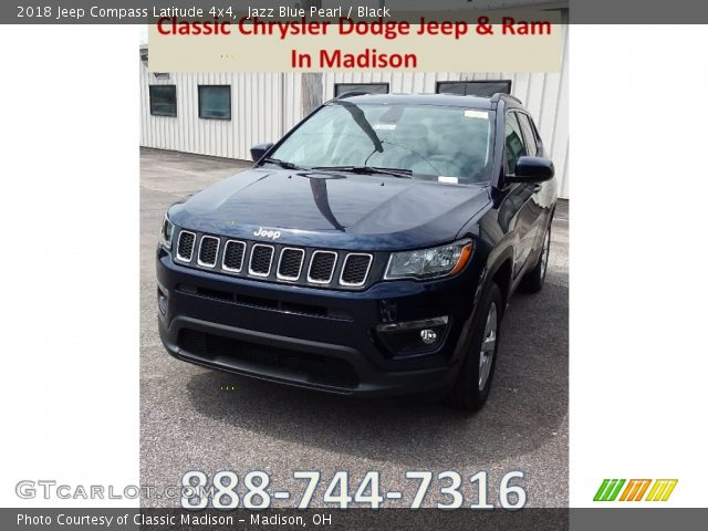 2018 Jeep Compass Latitude 4x4 in Jazz Blue Pearl