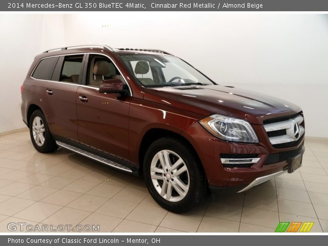 2014 Mercedes-Benz GL 350 BlueTEC 4Matic in Cinnabar Red Metallic
