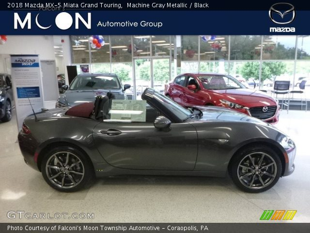 2018 Mazda MX-5 Miata Grand Touring in Machine Gray Metallic