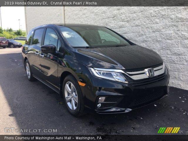 2019 Honda Odyssey EX in Crystal Black Pearl