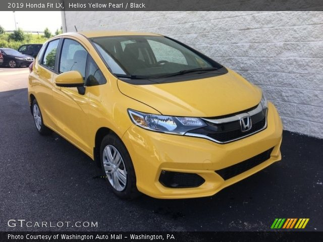 2019 Honda Fit LX in Helios Yellow Pearl