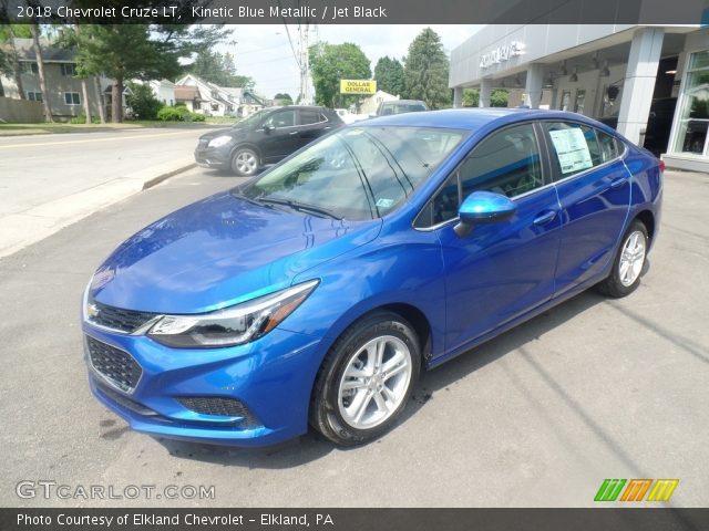 2018 Chevrolet Cruze LT in Kinetic Blue Metallic