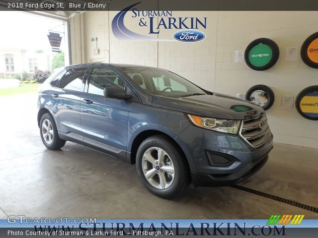 2018 Ford Edge SE in Blue