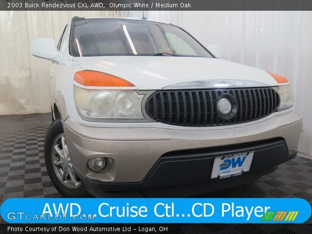 2003 Buick Rendezvous CXL AWD in Olympic White