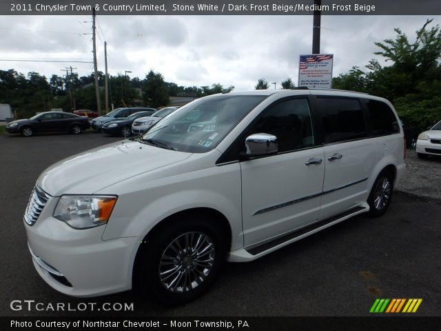 2011 Chrysler Town & Country Limited in Stone White