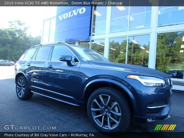 2019 Volvo XC90 T6 AWD Momentum in Denim Blue Metallic