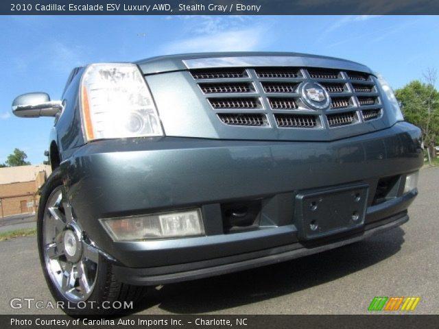 2010 Cadillac Escalade ESV Luxury AWD in Stealth Gray
