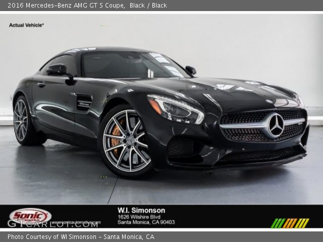 2016 Mercedes-Benz AMG GT S Coupe in Black